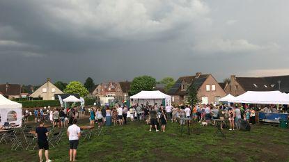 Onweer vergalt Feest in't Groen (een beetje)