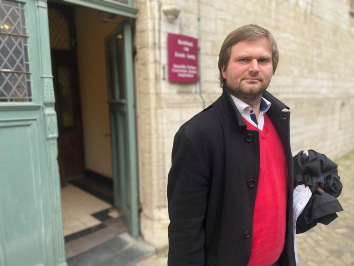 Advocaat Bart Vanmarcke.