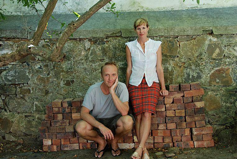Stef Bos en zijn vrouw Varenka Paschke.