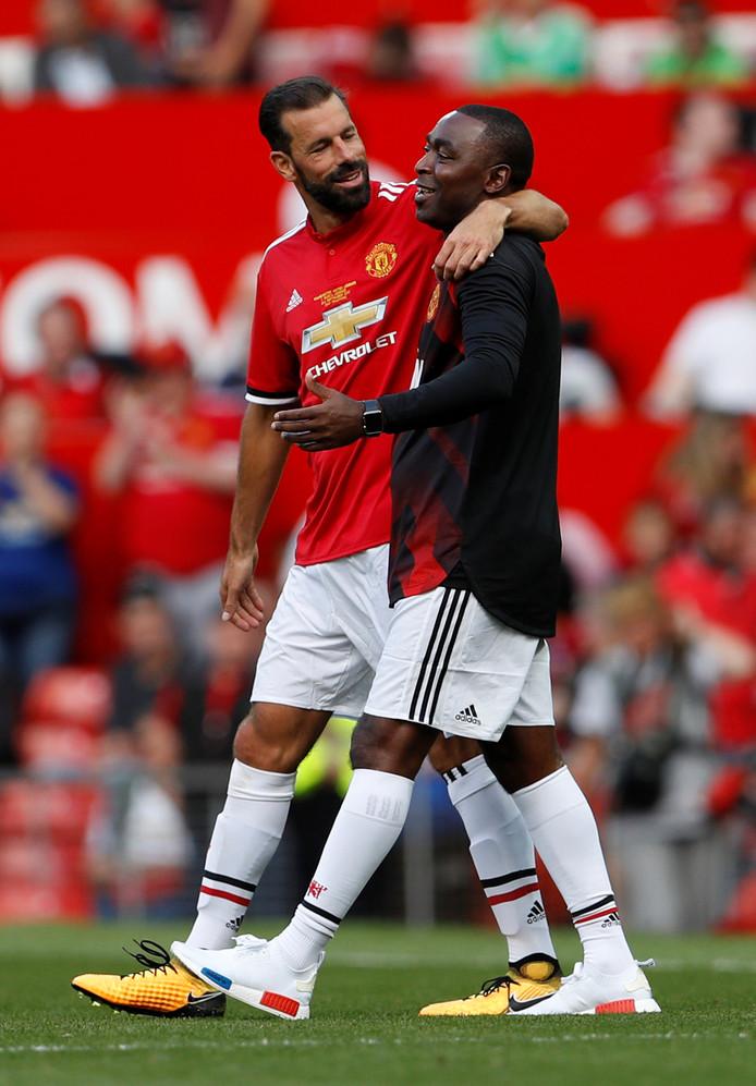 Ruud van Nistelrooy en Andy Cole.