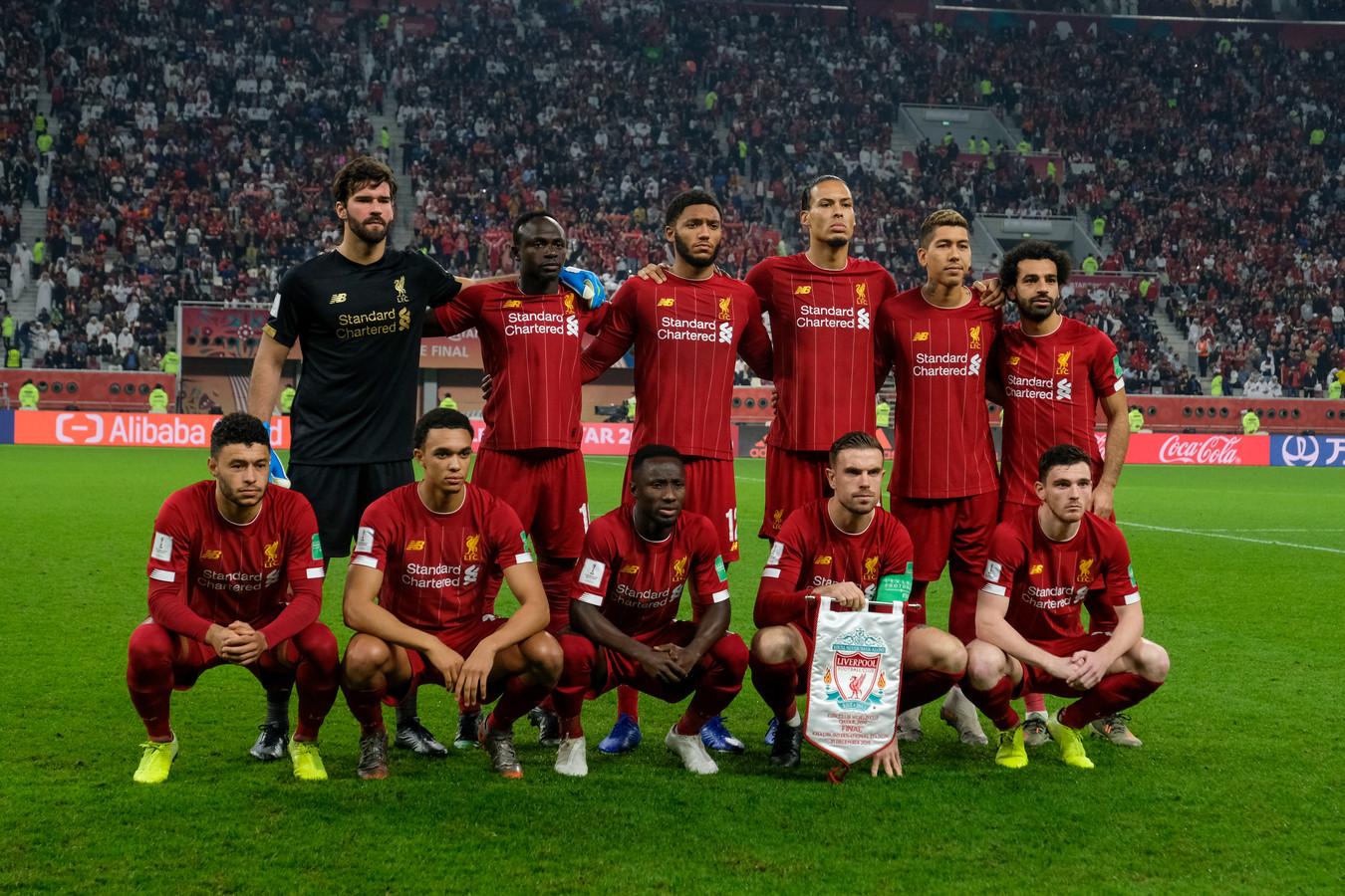 De basis van Liverpool tijdens het WK voor clubteams.