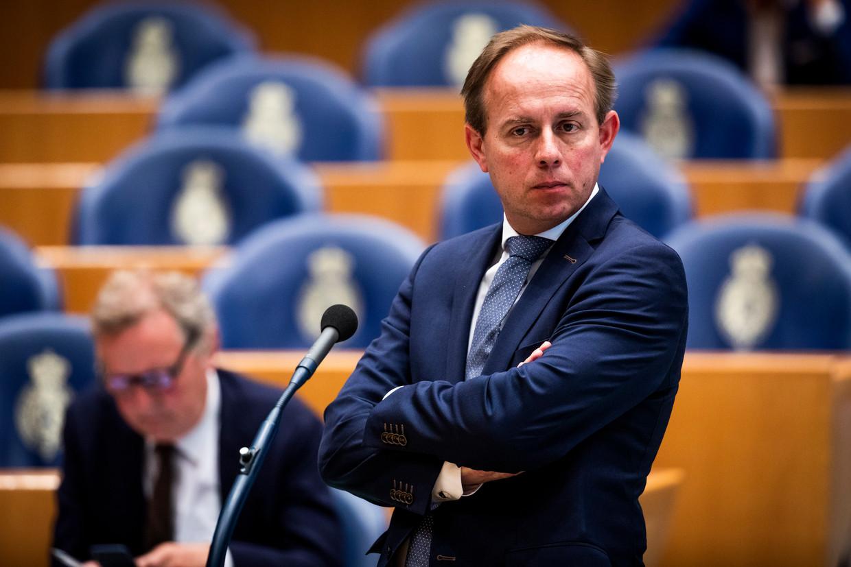 Kees van der Staaij, SGP-fractievoorzitter in de Tweede Kamer en politiek leider.  Beeld Freek van den Bergh/de Volkskrant