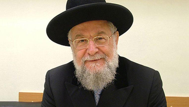 Yisrael Meir Lau. Beeld