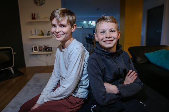Bas en Pim lijden aan een immuunziekte Bas is grote broer
