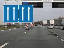 Uniek bord maakt splitsing A50 voor Waalbrug duidelijker