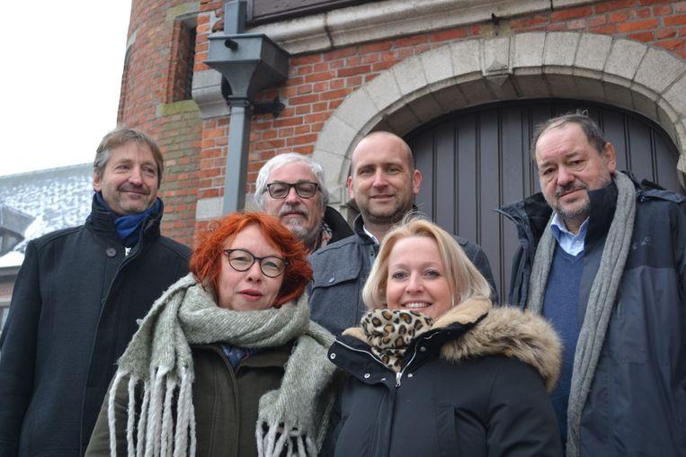 Het nieuwe schepencollege van Oud-Turnhout.