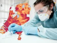 KAART | Aantal besmettingen in regio daalt licht, geen overlijdens gemeld; kijk hier hoe het in jouw gemeente is