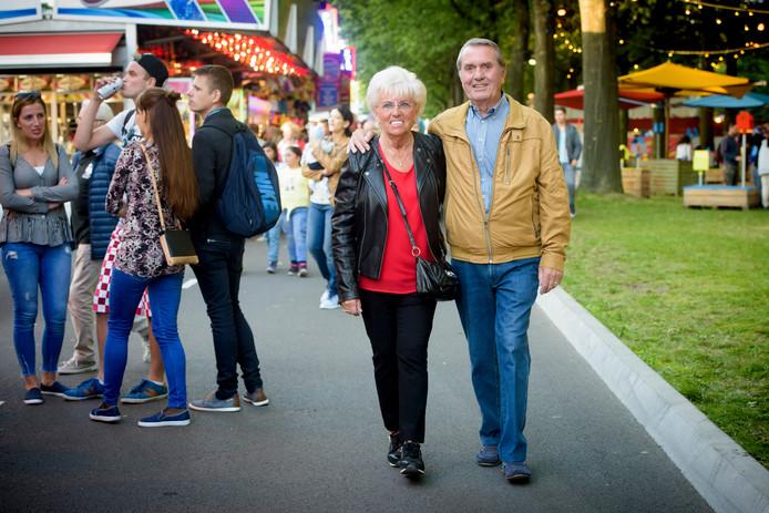 Sjaak Feijen (77) en Jans van den Boom (78)