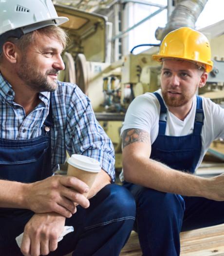 Meer mannen tussen de 25 en 45 jaar werken niet