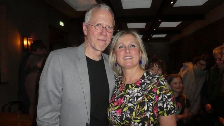 cc0a87f6e21 ... Fluitsma met zijn vrouw Bernadette Fluitsma Luijf: 'Heb oog voor het  menselijke, dan zitten ze veel makkelijker in hun stoel.' Beeld Hans van  der Beek