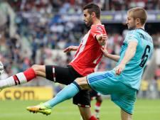 Geen club won in de eredivisie zo vaak van PSV als Feyenoord
