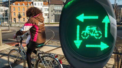 Nieuwe wegcode gaat vandaag in: bij 'vierkant groen' mogen alle fietsers en voetgangers tegelijk oversteken