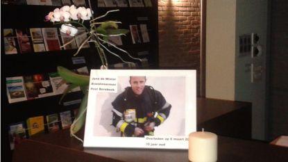 Brandweerman Jens De Winter krijgt afscheidsplechtigheid in kazerne Borsbeek