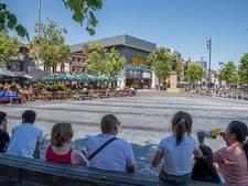VIDEO: Tilburgse fontein weer aangezet op tropische dag