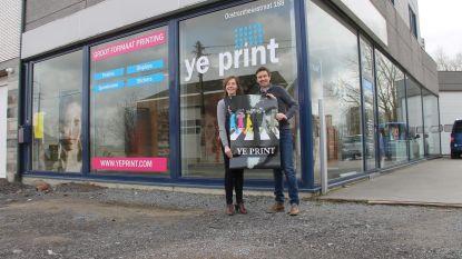 Printbedrijf vestigt zich in voormalige garage