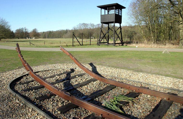 Het Nationaal Monument Kamp Westerbork  Beeld ANP