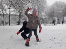 Sneeuwfoto's uit West-Brabant