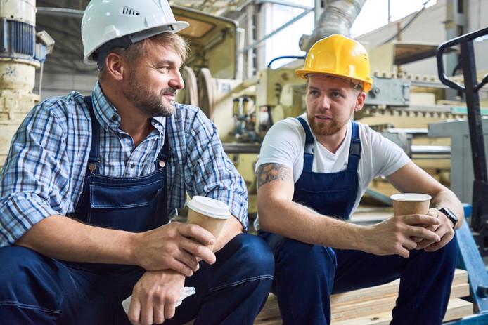 Foto ter illustratie. Meer mannen tussen de 25 en 45 jaar nemen geen deel aan de arbeidsmarkt. Een van de mogelijke reden is het gebrek aan banen voor werknemers zonder diploma's of andere startkwalificaties.