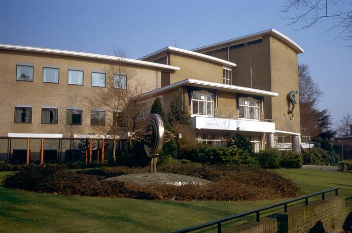 Dde voormalige radio- en televisiestudio van de AVROTROS in Hilversum.