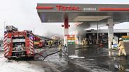 Brand bij Total-tankstation door aansluiten zonnepanelen