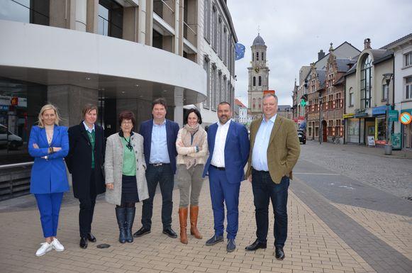 De heraanleg van de Groentemarkt is één van de vele doelen die het Lokerse stadsbestuur de komende zes jaar wil uitvoeren.
