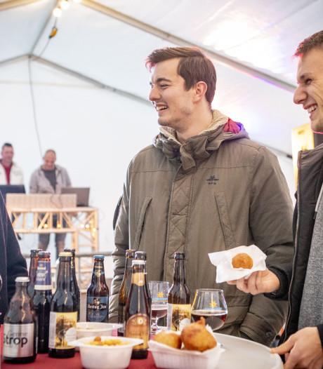 Oliebollenactie in Twente mondt uit in dorpsfeest met 500 bezoekers