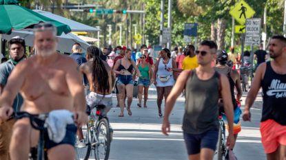 Aantal coronabesmettingen piekt opnieuw in de VS