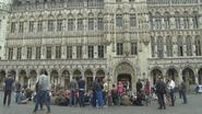 Sit-in op Grote Markt tegen Brussels beleid in nasleep van Samusocial-schandaal