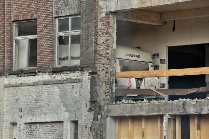 Caravan op mysterieuze plaats bij KVL terrein in Oisterwijk