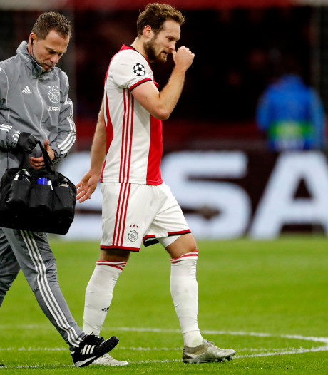 Ajax kan nog weinig kwijt over herstel Daley Blind