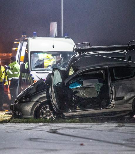 Twee gewonden na ongeval N217