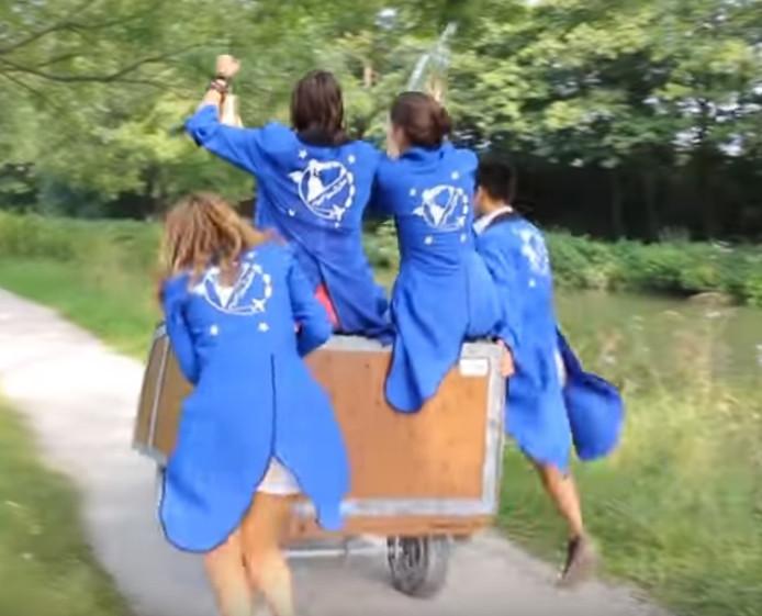 Still uit YouTube-filmpje van het introductiekamp van afgelopen jaar.