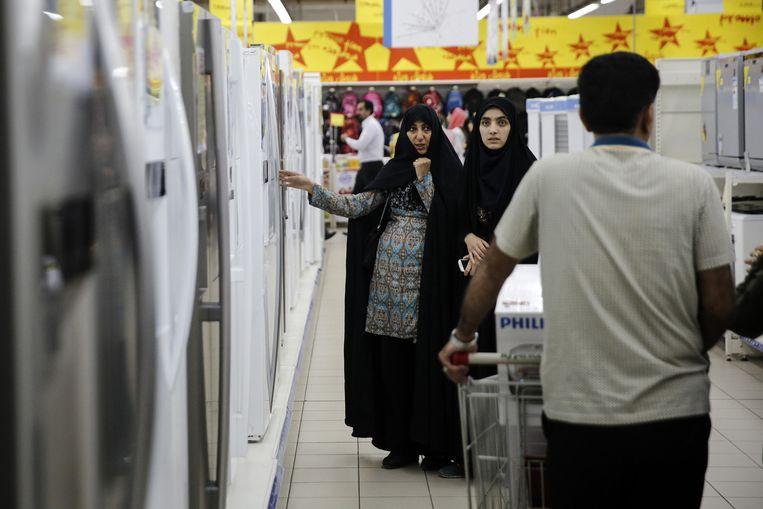 Nederlandse bedrijven willen graag de markt van Iran op, maar de banken zijn er niet klaar voor. Beeld getty