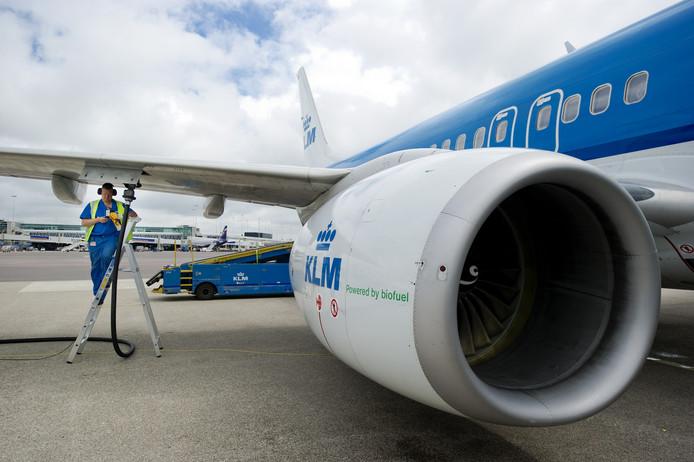 In 2011 vloog het eerst een KLM-toestel op biokerosine.