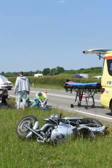Motorrijder remt te hard en veroorzaakt ongeluk op N229 bij Werkhoven