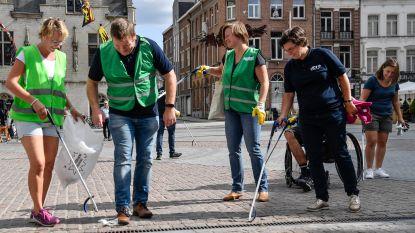 Stad properder dankzij World Clean Up Day