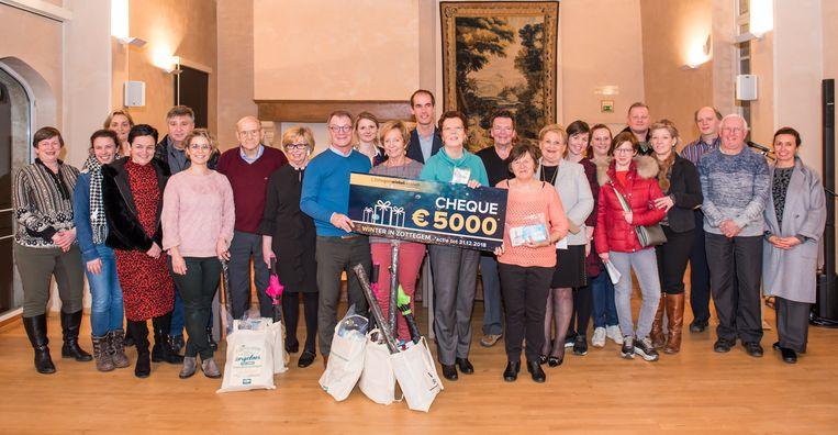 Gefeliciteerd Chantal Van Steerthen, Chris Van Petegem, Mark en Greta Holvoet, Gratienne Verheijen en Lieve De Troyer.
