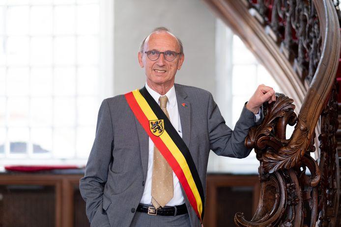 Een archiefbeeld van Liers burgemeester Frank Boogaerts.