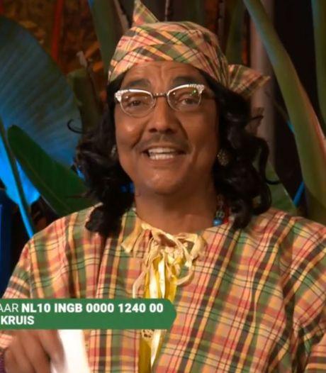 Tante Es trekt half miljoen kijkers met 'doekoe actie' voor Suriname