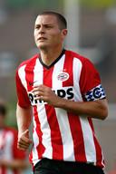 Danny Koevermans in 2009, uitkomend voor PSV.