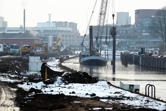 De afgelopen jaren kwam ook het werk aan nieuwbouwwijk Stadsoevers eindelijk echt op stoom. De aanpak van de Vliet is bijna afgerond en de volgende projecten staan al in de steigers.
