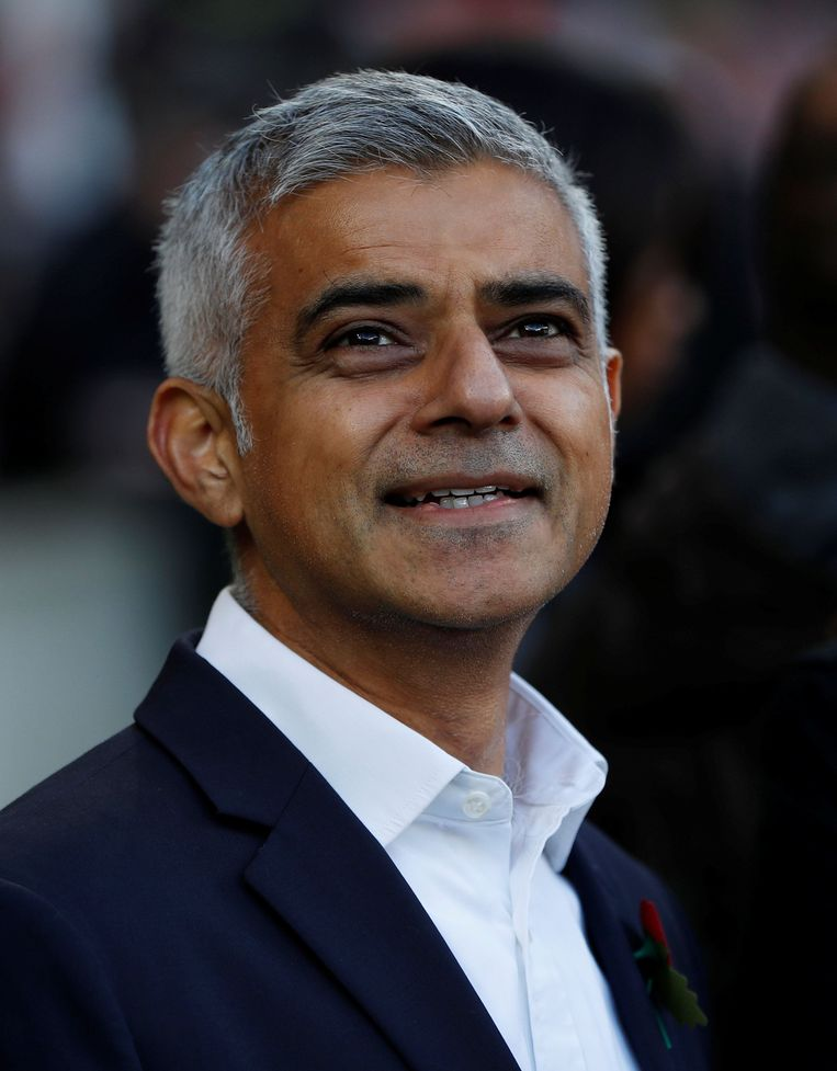 De Londense burgemeester Sadiq Khan