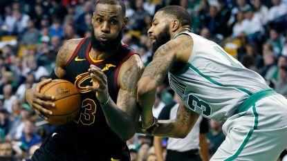 Cleveland heeft weinig moeite met Boston in topper Eastern Conference