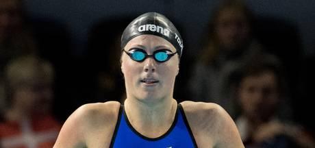 Zwemsters grijpen  bij 4x50 net naast brons