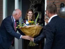 EK-kampioene veldrijden Yara Kastelijn krijgt college op bezoek