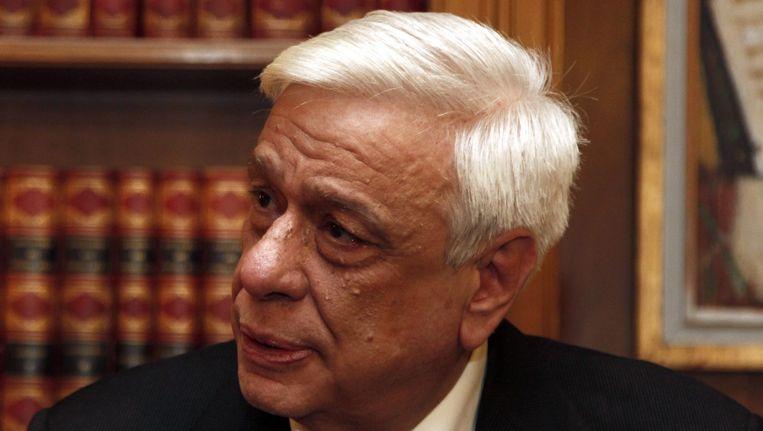 Prokopis Pavlopoulos, de nieuwe president van Griekenland. Beeld epa