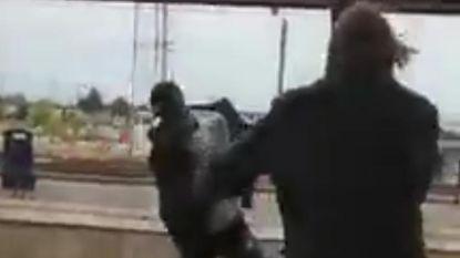 Man die zwarte tiener op sporen trok, sloeg vorig jaar stationschef knock-out
