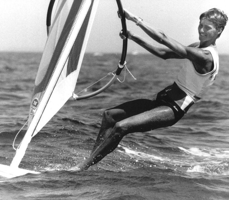 Stephan van den Berg, olympisch kampioen. Beeld anp