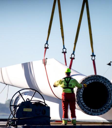 Ook kleine windmolen in beeld in Apeldoorn, maar de grote moeten het doen