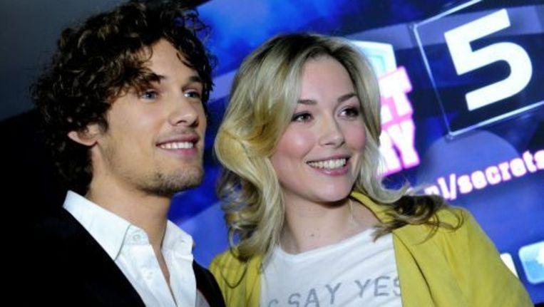 Bart Boonstra en Renate Verbaan, de presentatoren van de realityshow Secret Story. ANP Kippa Beeld